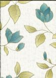 Botanica Wallpaper Amy Teal 32-479 By Graham & Brown